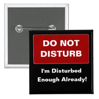 Disturbed 2 Inch Square Button
