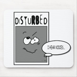 DISTURBED COLLECTION MOUSE PAD