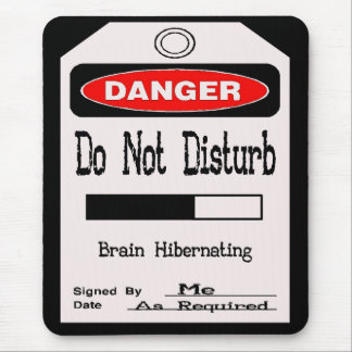 Disturbed Mouse Pad