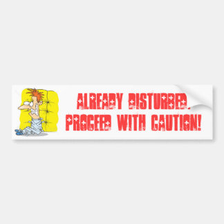 Disturbed: Straight Jacket Bumper Sticker