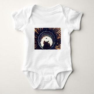 Disturbed waters baby bodysuit