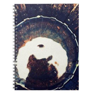 Disturbed waters spiral notebook