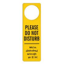 """Disturbing """"Do Not Disturb"""" Door Sign"""