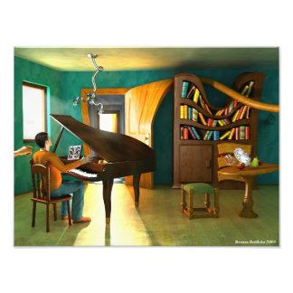 Disturbing the Pianist Art Photo
