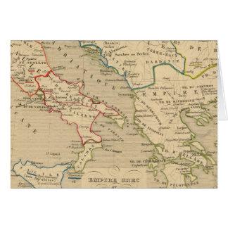 d'Italie 774 del imperio Grec y de Royaume 900 Felicitación