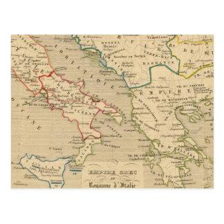 d'Italie 774 del imperio Grec y de Royaume 900 Postal