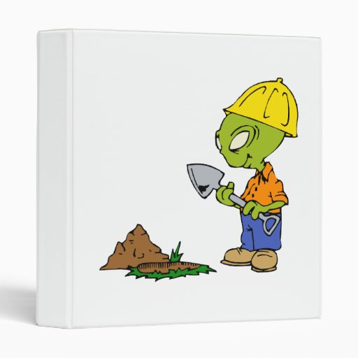 Ditch Digger Alien 3 Ring Binders