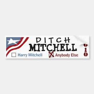 Ditch Mitchell Car Bumper Sticker