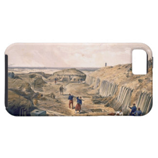 Ditch of the Bastion du Mat, plate from 'The Seat iPhone SE/5/5s Case
