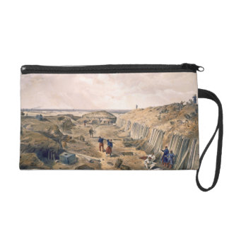 Ditch of the Bastion du Mat, plate from 'The Seat Wristlet Purse