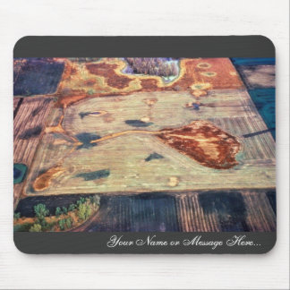 Ditched and Drained Pothole Mouse Pad
