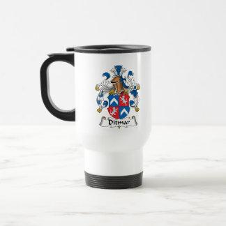 Ditmar Family Crest Mug
