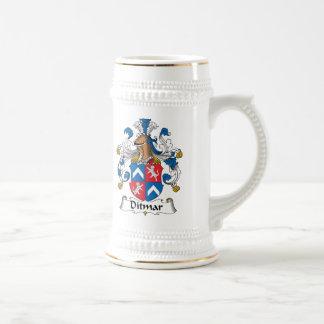 Ditmar Family Crest Mugs