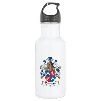 Ditmar Family Crest 18oz Water Bottle