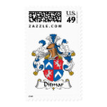 Ditmar Family Crest Stamp
