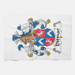 Ditmar Family Crest Towels