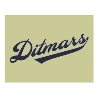 Ditmars Postcard