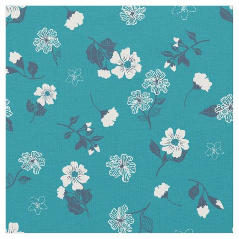 Ditsty flowers fabric