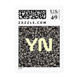 Ditsy1 Color Change postage