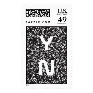 Ditsy1 Monogram Stamp