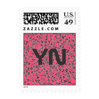 Ditsy2 Color Change postage