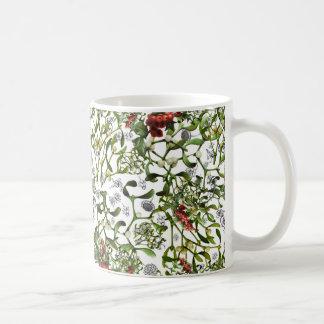 Ditsy Mistletoe Coffee Mug