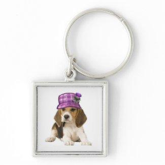 Ditzy Dogs~Original                            Keychain~Beagle