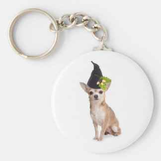 Ditzy Dogs~Original Keychain~Chihuahua Basic Round Button Keychain