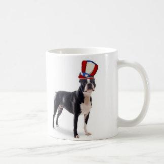 Ditzy Dogs~Original Mug~Boston Terrier Classic White Coffee Mug