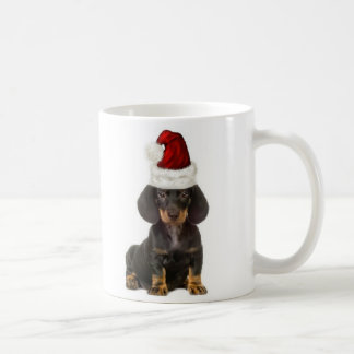 Ditzy Dogs~Original Mug~Dachshund~Christmas