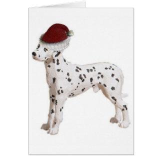 Ditzy Dogs~Original Notecard~Dalmation Card
