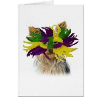 Ditzy Dogs~Original Notecard~Yorkie Cards
