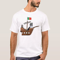 Ditzy Dogs~Original Tee~Border Collie~Columbus Day T-Shirt