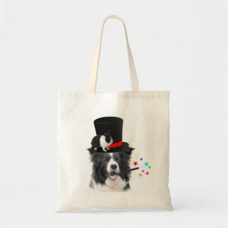 Ditzy Dogs~Original Tote~Border Collie Tote Bag