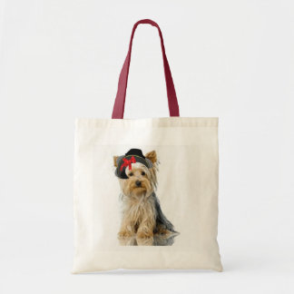 Ditzy Dogs~Original Tote~Yorkie Tote Bag