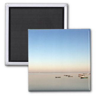Diu Serenity Photograph 2 Inch Square Magnet