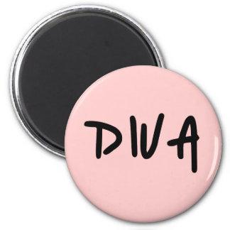 DIVA 2 INCH ROUND MAGNET