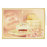 Diva'  40th Birthday Card for Baby Boomer Women