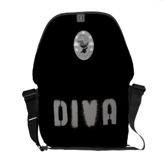 Diva Bag (Unstoppable Diva Version) Courier Bags