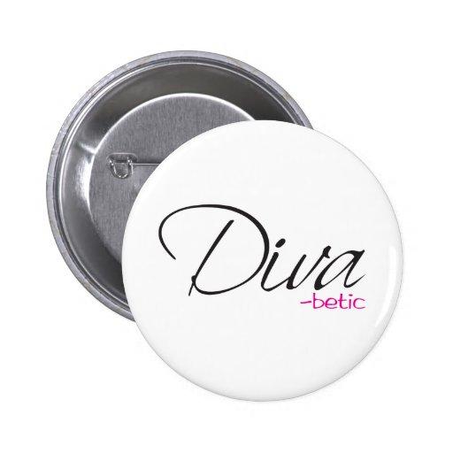 Diva-betic Pins