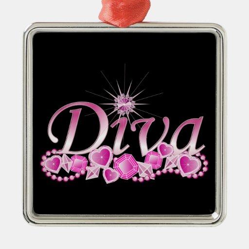 Diva Bling Christmas Ornaments
