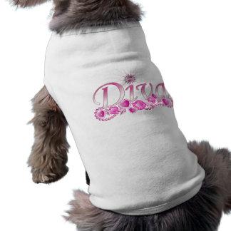 Diva Bling Pet T Shirt