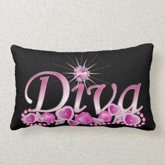 Diva Bling Lumbar Pillow