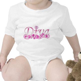 Diva Bling Tshirts