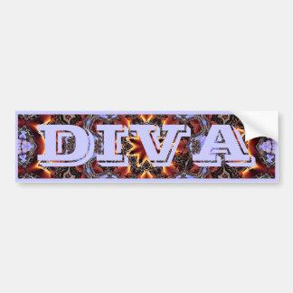 DIVA Bumper Sticker