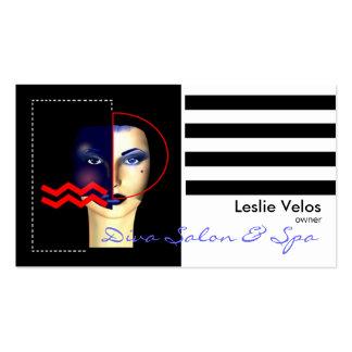 Diva Business Card template