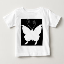 Diva Butterfly Baby T-Shirt