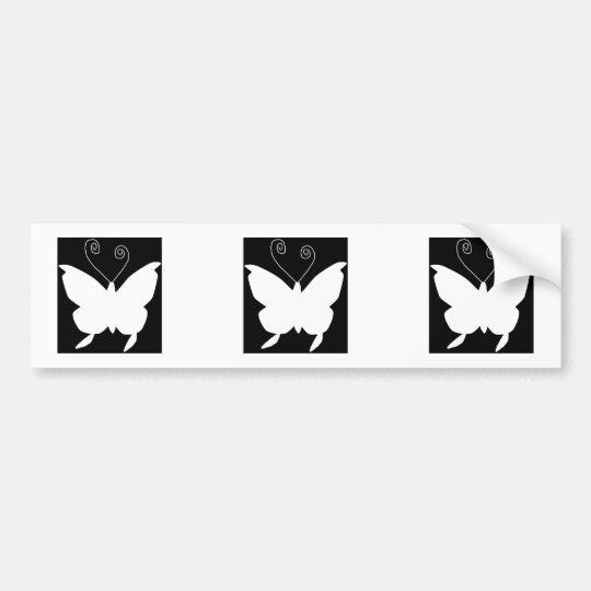 Diva Butterfly Bumper Sticker