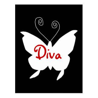 Diva Butterfly I Postcard