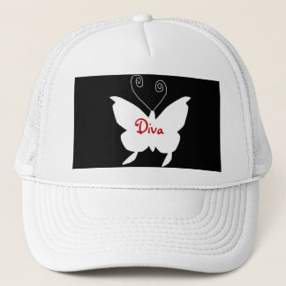Diva Butterfly I Trucker Hat